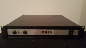 electro voice q66-II amp.