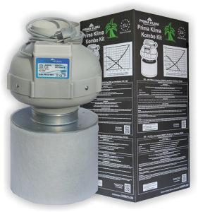 Carbon filter Ventilacijski set GROW125