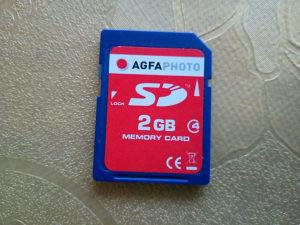 Memorijska kartica SD 2GB AGFA PHOTO