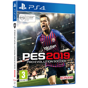 PES 2019 Pro Evolution Soccer (PS4)