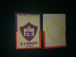 sličice sa šibica, N. K. Maribor sa greškom