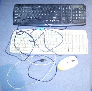 Dvije tastature i miš