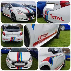 Peugeot naljepnice