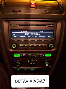 CD RADIO OCTAVIA A5-A7