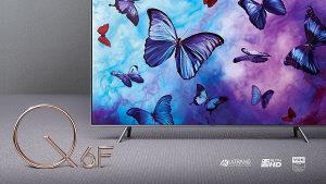 "Samsung QE55Q6F 55"" 4K QLED 55Q6F TV QE55Q6FNATXXH"