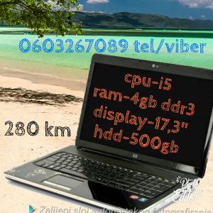 HP DV7 i5/4gb/500gb