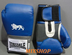 LONSDALE Boksačke Rukavice 16oz Plave Box Vreću 16