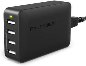 USB punjač 4-portni 2.4A RAVPOWER