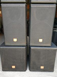 Ozvucenje JBL MRX500 2 bina + 2 kutije