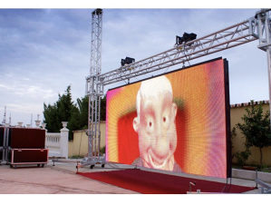 Led displej bilbord ekran reklame outdoor 4X3m