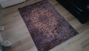 Perzijski tepih, svila i vuna,rucni rad,110x170cm