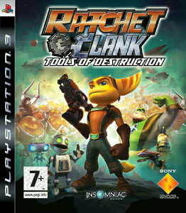RATCHET AND CLANK TOOLS OF DESTRUCTION PS3 ORIGINAL