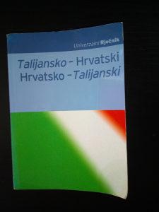Rječnik / Talijansko Hrvatski - Hrvatsko Talijanski