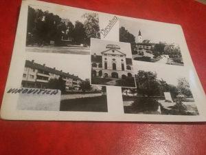 Crno bijela razglednica Virovitica