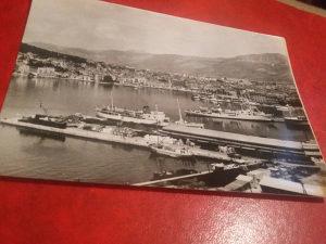 Crno bijela razglednica Split