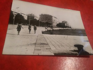 Crno bijela razglednica Zadar
