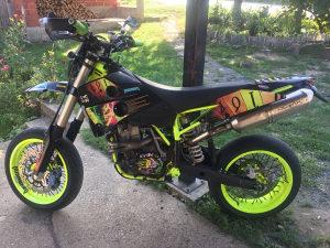 Husaberg fe 650 super moto cross