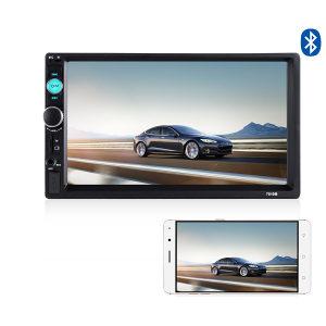 Mirror Link MP5 MP3 Radio Audio Video Player 2DIN