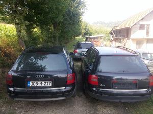 Branik / karambolka Audi A6 c5 zadnji