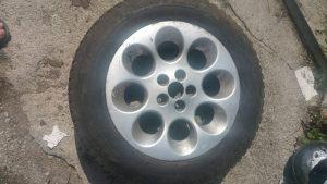 Felge s gumama Alfa Romeo 156 zimske