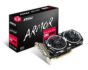 MSI Rx 570 RX570 Armor OC 4GB