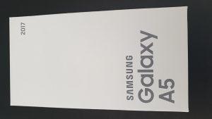 Samsung Galaxy A5 2017 BLACK NOVO