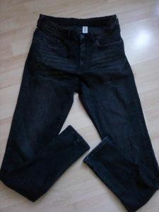H&M sive hlače/pantalone/farmerke 31/34