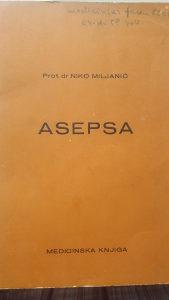 Asepsa, Medicinska knjiga