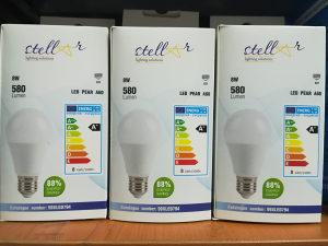 LED sijalica 8W E27 4200K 580 Lumena