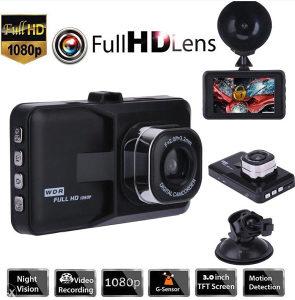 AUTO kamera snimanje saobraćaja prednja + zadnja