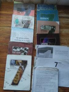 Knjige za 7. razred OS