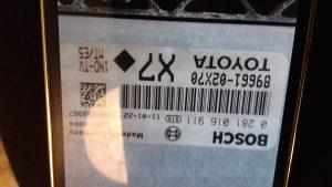 Toyota auris kompijuter 1-4-d4  2011godiste