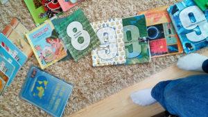 Knjige za 1,2,3,4,5,6,7,8, i 9