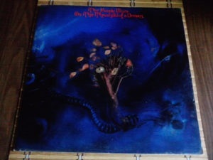 The Moody Blues – On The Threshold Of A Dream lp