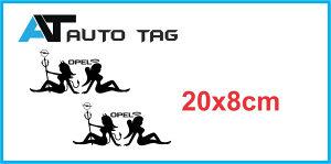 Stikeri i auto naljepnice/naljepnica za OPEL.!-,