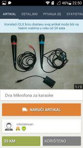 Mikrofon za karaoke