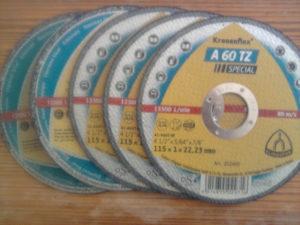 Ploča rezna ¤ 115 za metal
