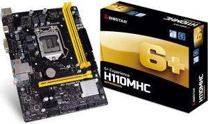 Matična ploča MB LGA1151 H110 Biostar H110MHC