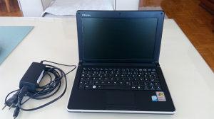 "Laptop Dualcore 2x1660/160 disk/1GB ram 10.1"" displej"