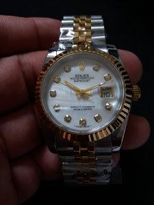 Rolex Oyster Perpetual Datejust Silver Zenski