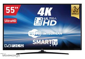 """Televizor VOX LED SMART 55"""" 55DSW400U"""