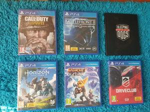 6 igri/igrica za PlayStation 4 (PS4)