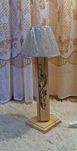 DRVENA STOLNA LAMPA-SM DESIGN