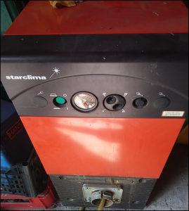 Peć za centr grijanje-lož ulje i plin STARCLIMA GNS1 60