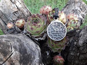 Solomonov tajni kljuc,talisman ogrlica