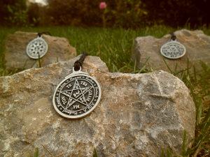 Solomonov tetragram,pentagram kralja Solomona ogrlica