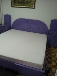 Bračni krevet od medjapana