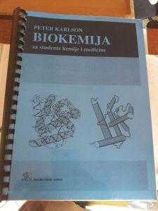 Biohemija knjiga