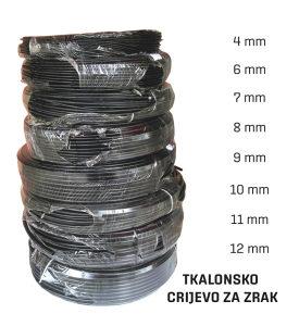 Crijevo za zrak,Kalonsko crijevo 4,6,7,8,9,10,11,12mm