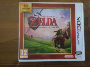 Legend of Zelda: Ocarina of time 3d za 3ds Europski